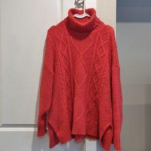 Aerie Oversized Turtleneck Sweater